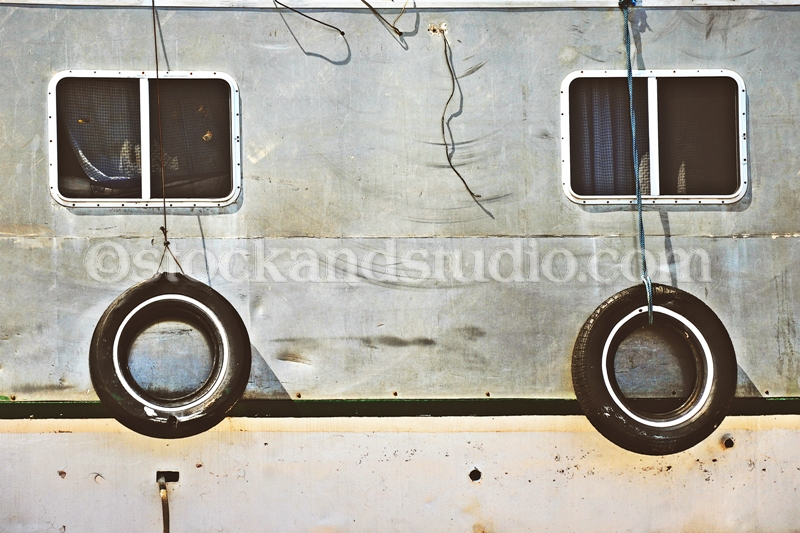 Boat Windows With Tires
