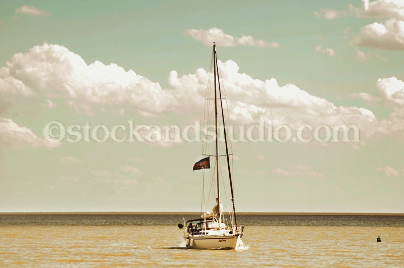 Pirate Sail Boat on Lake Winnipeg