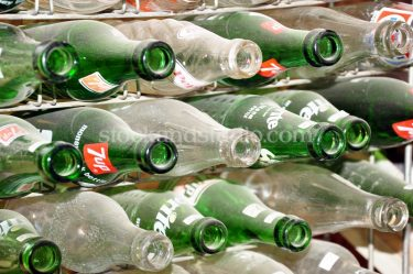 Glass Bottles – 7up, Sprite, Pepsi