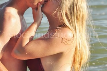 Ashley & BF – Kiss in Water (Close up)