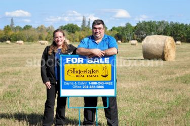 Bale Field – Sign 1