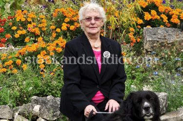 Fran with Alio – Rock Garden (Vertical)
