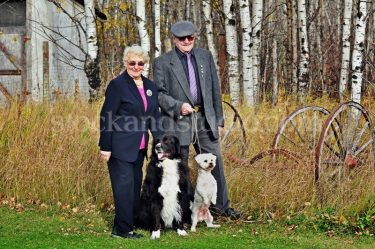 Fran & Bill With Dogs 1